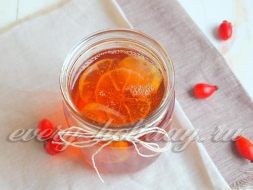 Приготовление сиропа из шиповника в домашних условиях. Сладкий сироп из шиповника с лимоном в домашних условиях