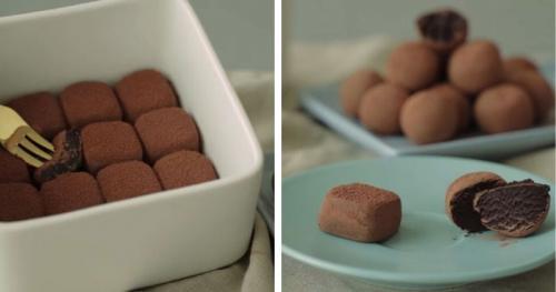 Трюфели из какао и масла в домашних условиях, как раньше. Шоколадные трюфели всего из двух ингредиентов. И никакой возни с духовкой