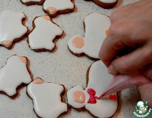 Как сделать черную глазурь для печенья. Глазурь для росписи