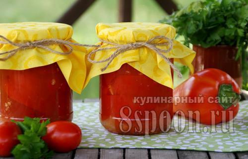 Сколько соли и сахара на литр томатного сока для лечо. Лечо из болгарского перца с томатным соком